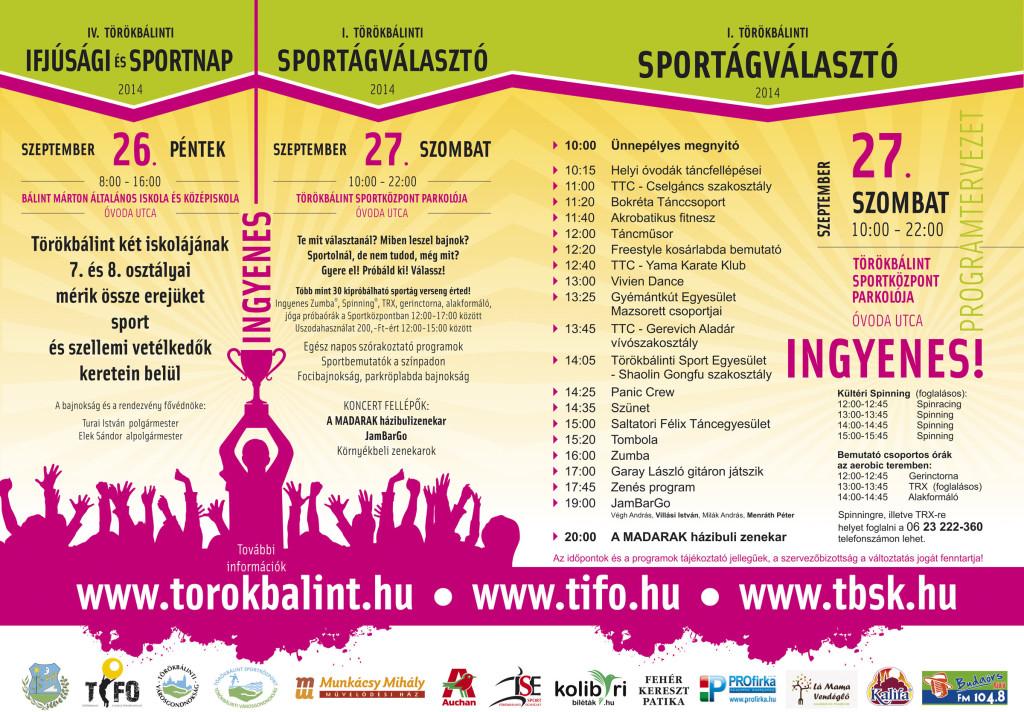 Sportnap és Sportágválasztó 2014